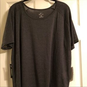 NWT NIKE Work Out Top 2X
